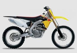 Suzuki RMZ 250 and RMZ 450